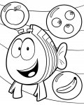 Bubble Guppies kinder ausmalbild
